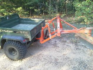 ATV UTV T-Point Lift 3 Point Hitch