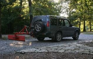 SUV with Three point hitch