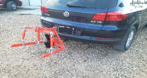 Volkswagon Tiguan with T-point Lift three point hitch